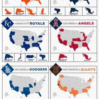 2014 MLB LDS Postseason Origins