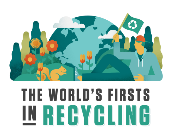 The World's Firsts In Recycling
