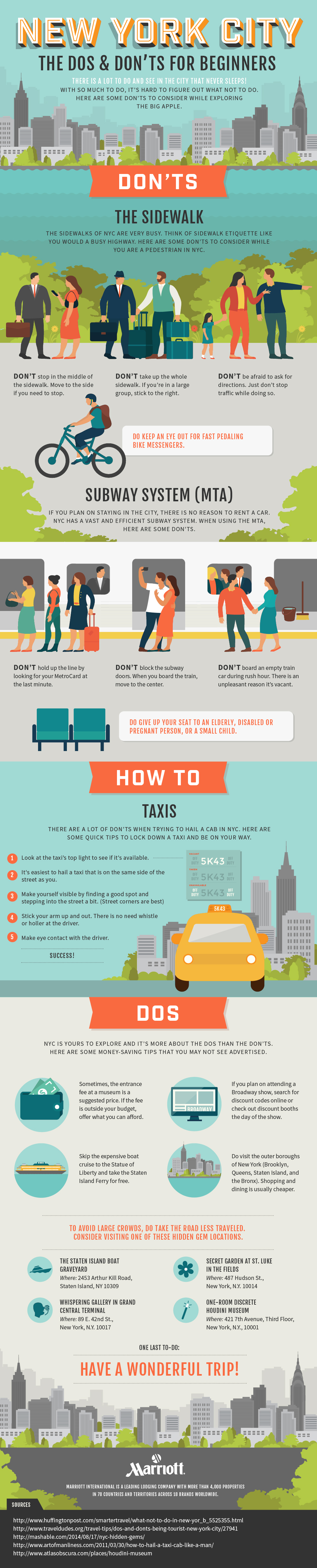 New York City: Dos And Don'ts For Beginners