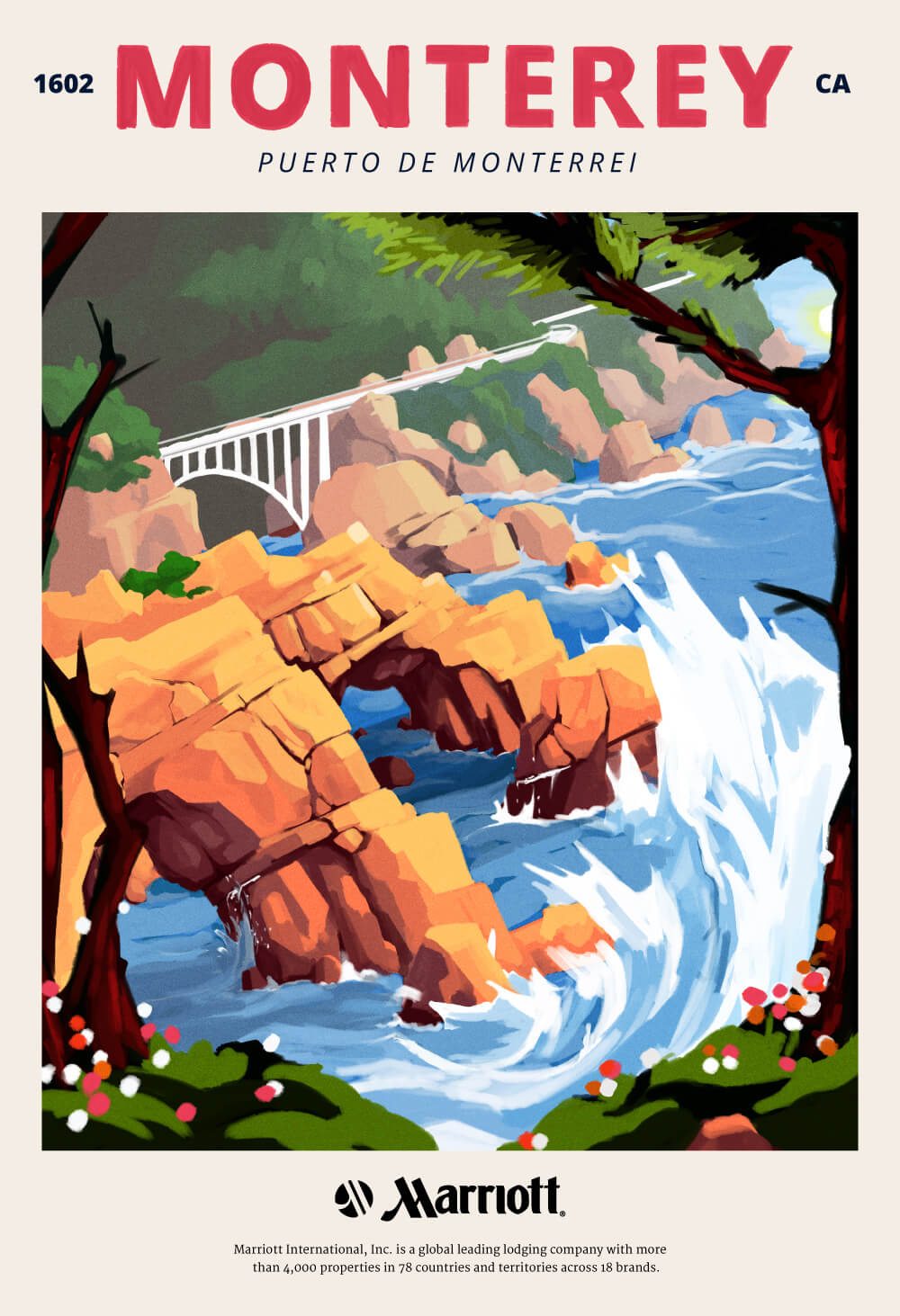 Monterey Poster