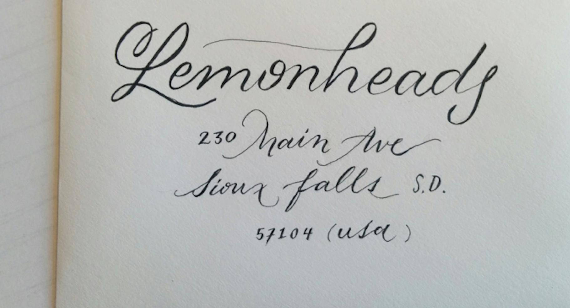 Designers Teach Calligraphy 101