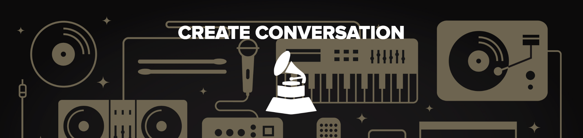 Create Conversation with the GRAMMYs