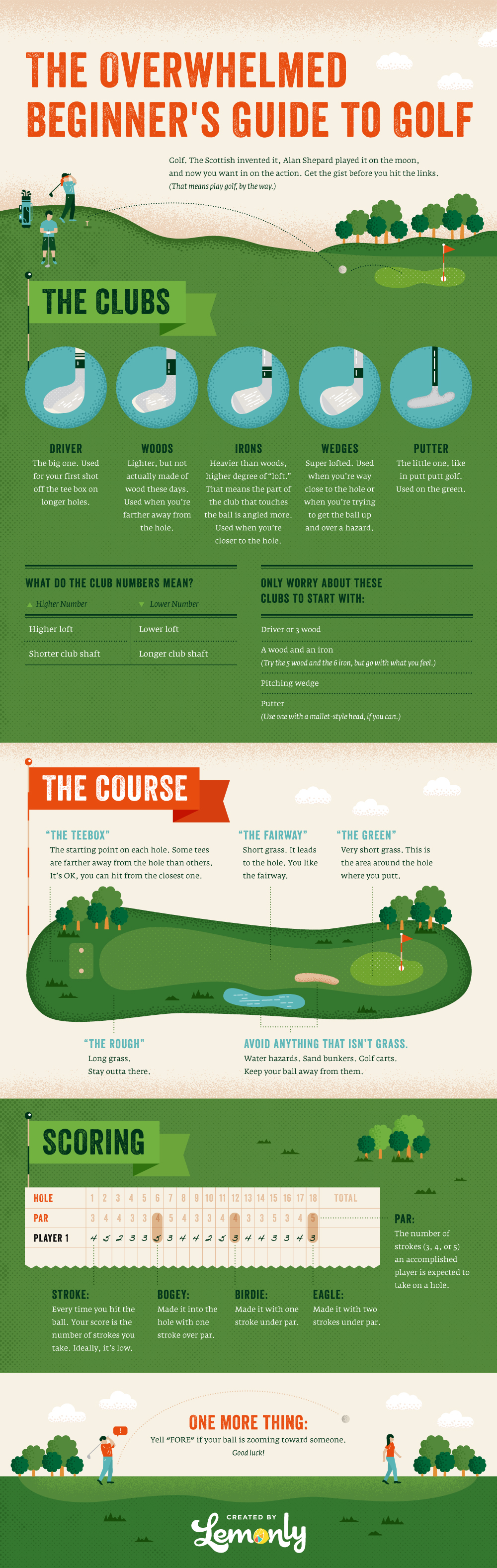 Golf For Beginners