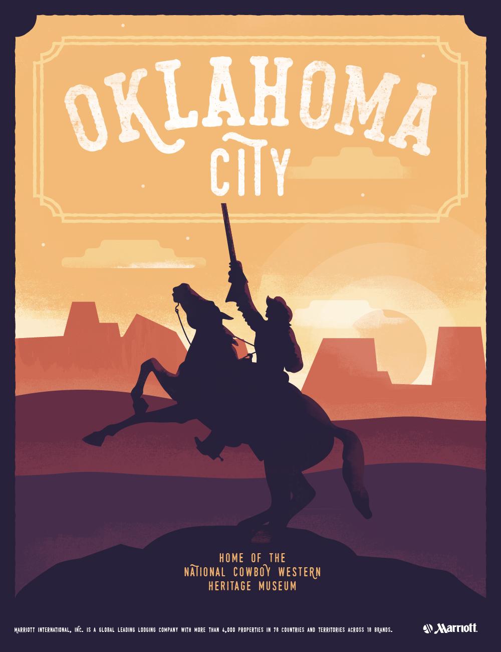 Oklahoma City Cowboy Heritage Museum Poster