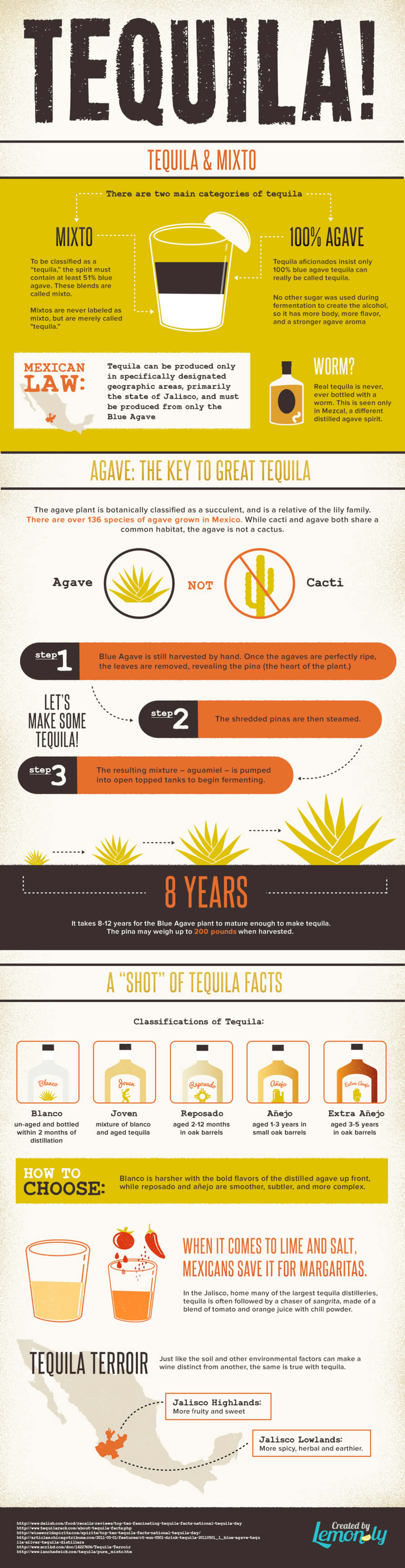 Best Infographics: Tequila!