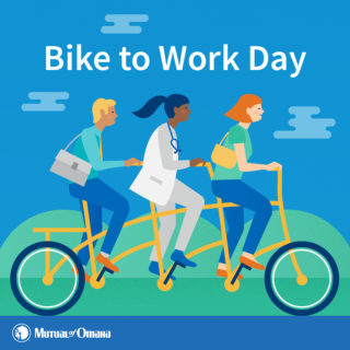 Mutual of Omaha – Bike to Work Day