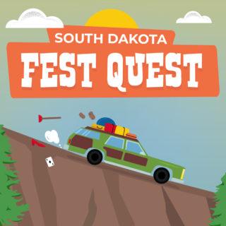 South Dakota Summer Festivals Infographic