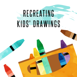 Lemonly Recreates Kids' Drawings