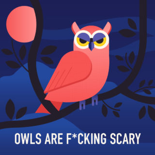 Owls Are F*cking Scary: An Infographic Argument