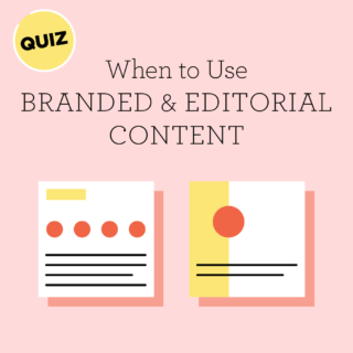 Quiz: Do I Need A Branded Or Editorial Infographic?