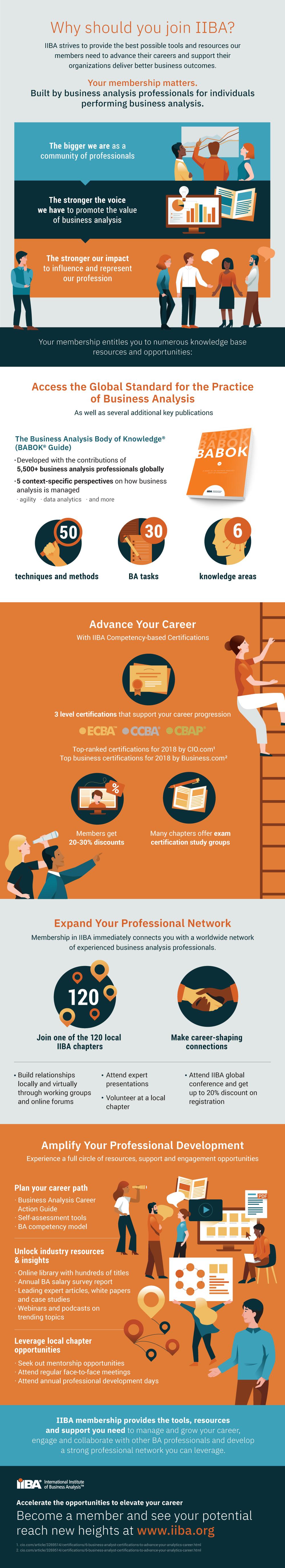 IIBA Recruitment Infographic