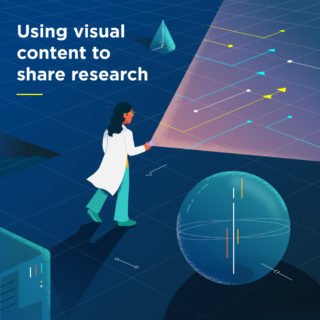 Using visual content to share research