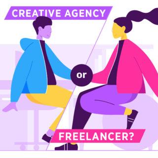 When to Use a Creative Agency vs. a Freelancer