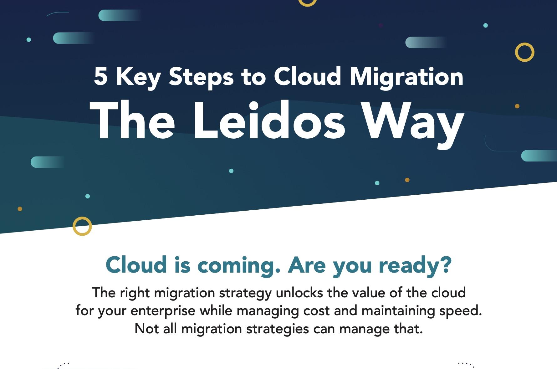 Five Key Steps to Cloud Migration