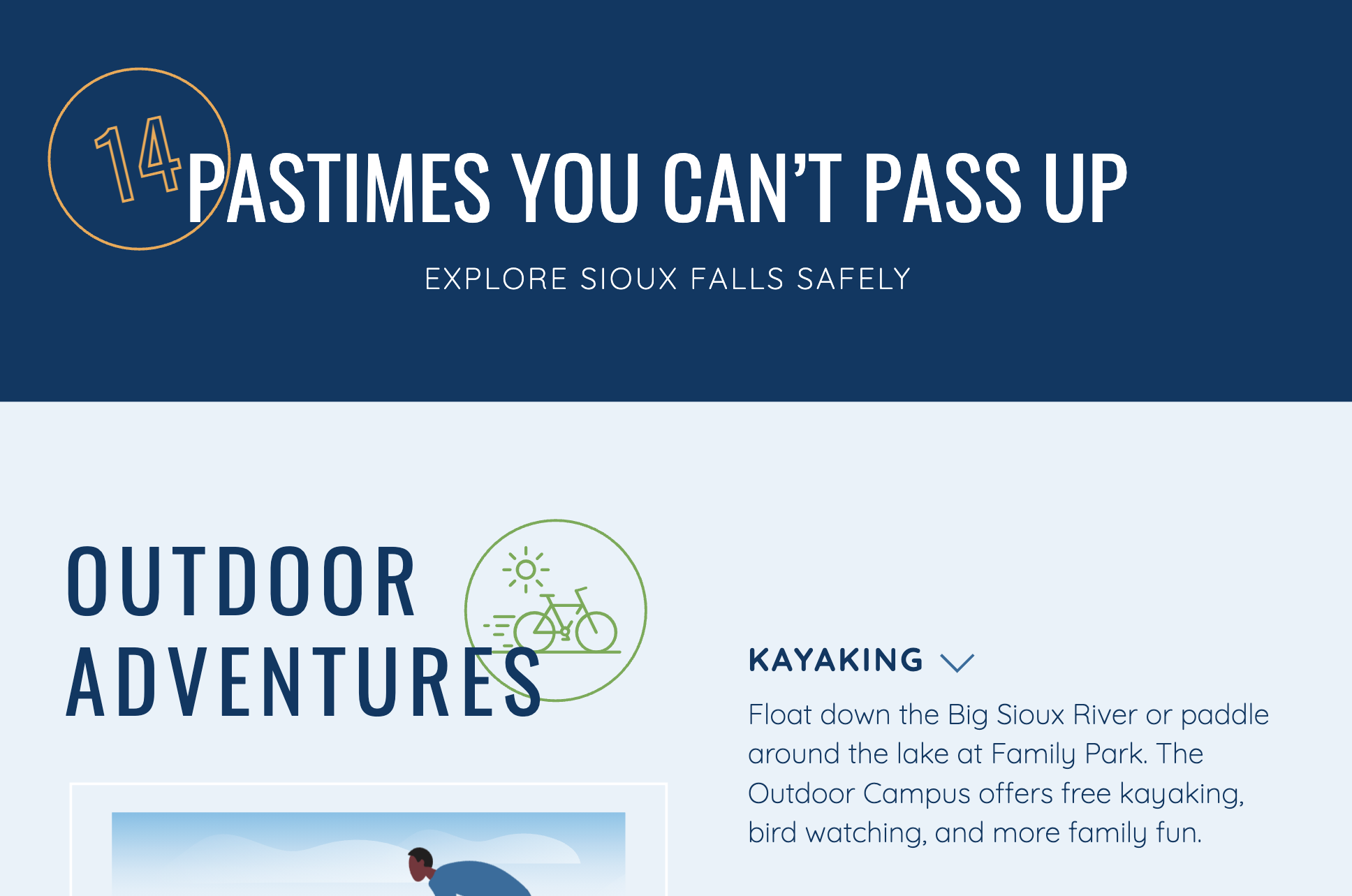 Leisure Activities in Sioux Falls
